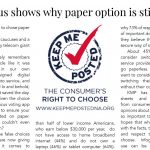 Iowa caucus shows why paper option is still essential