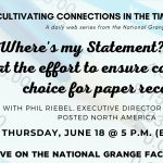 Video: Where's my paper bill? A look at efforts to protect consumer choice and fair access to paper statements