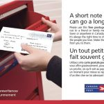 "Canada Post Connects Every Household with Postcards: ""Write Here Write Now!"""